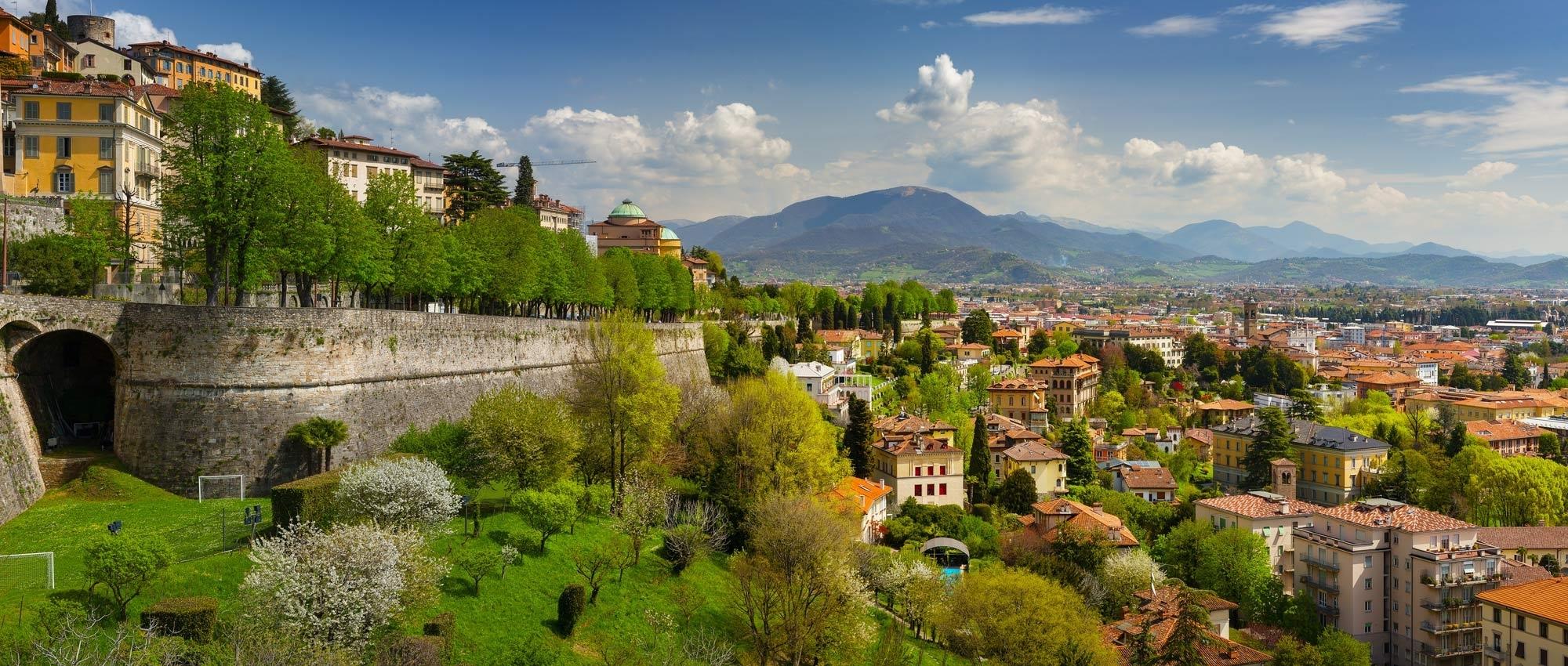 Lamborghini hire in Bergamo